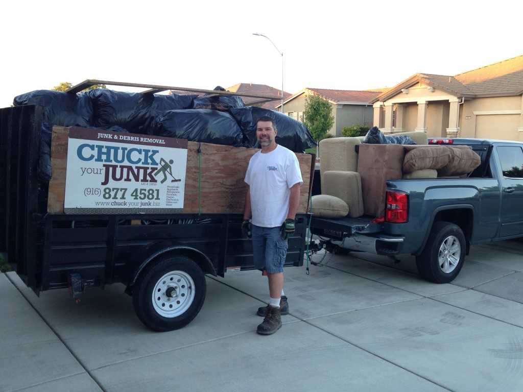 Robert Withrow, Owner of Chuck Your Junk
